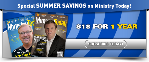 Ministry Today Summer Savings