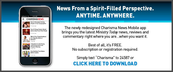 Charisma Mobile App - Ministry Tab